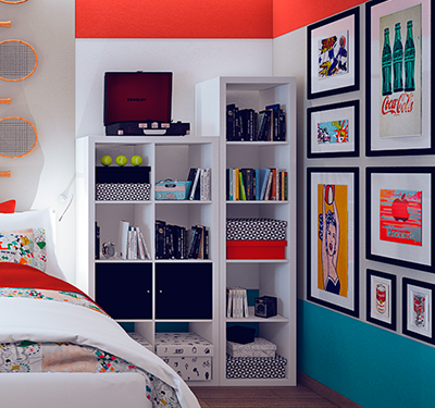 Leve as Cores do Pop Art para a sua casa