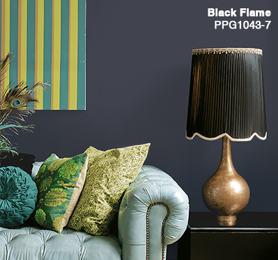 BLACK FLAME: A Cor do Ano 2018  traz modernidade e versatilidade aos ambientes