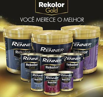 Conheça o nosso super lançamento: a linha Rekolor Gold
