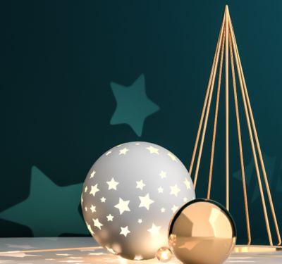 Últimos Retoques na Decoração de Natal